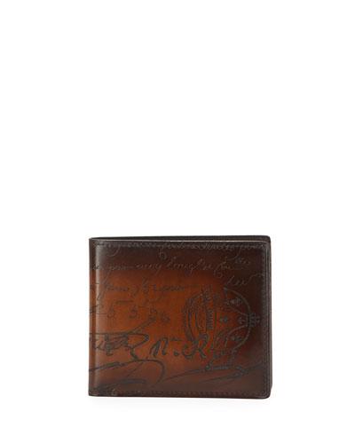 Scritto Venezia Leather Bi-Fold Wallet