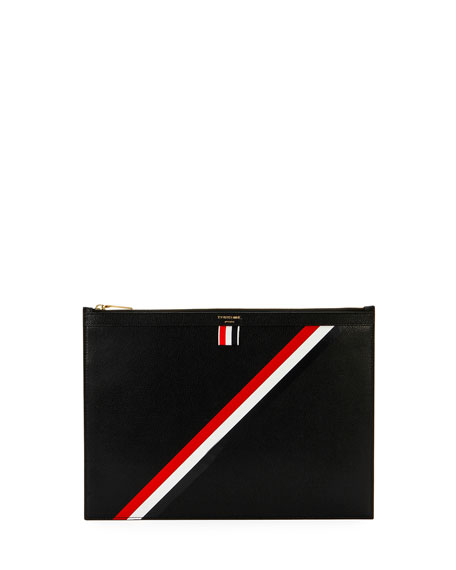 Medium Zip Document Holder, Black