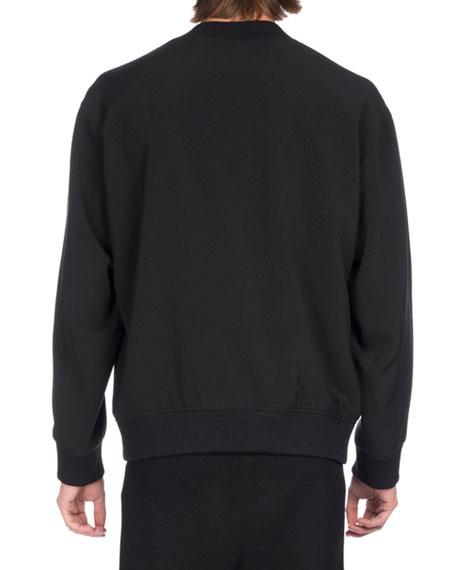 Embroidered Eye Icon Sweatshirt, Black