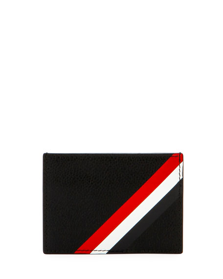 Single Card Holder, Black
