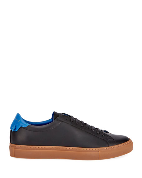 Men's Urban Knot Leather Low-Top Sneakers