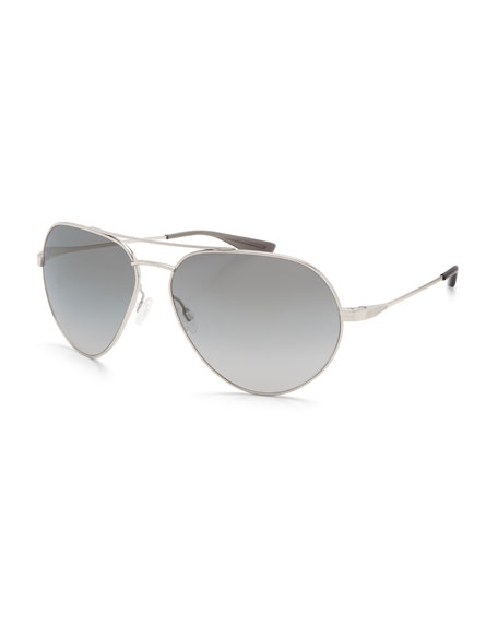 Men's Commodore Metal Aviator Sunglasses