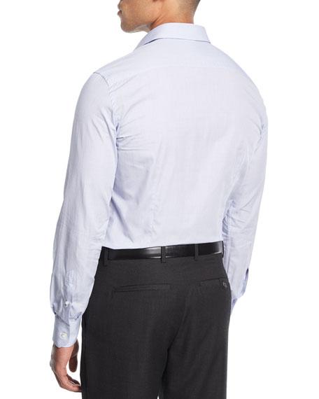Grid Cotton Dress Shirt