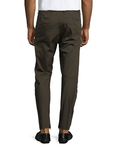 Cotton Biker Pants