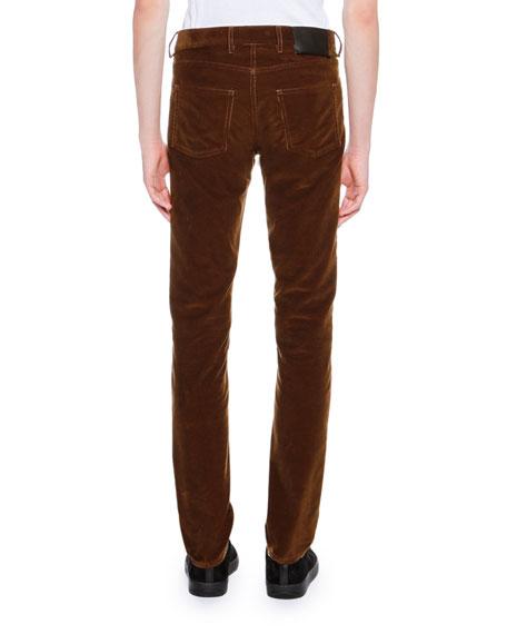Corduroy 5-Pocket Skinny Pants