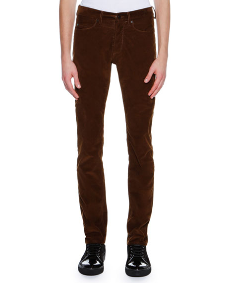 Corduroy 5-Pocket Skinny Pants