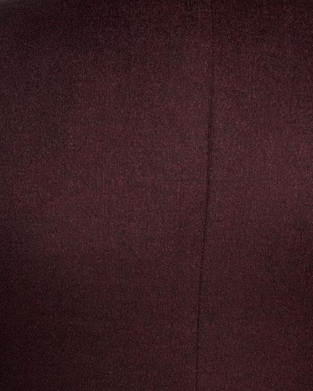 Cashmere-Silk Two-Button Blazer
