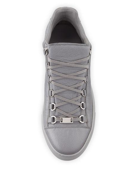 Men's Arena Leather Low-Top Sneaker