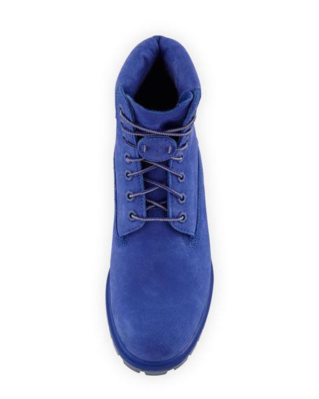"6"" Premium Waterproof Hiking Boot, Royal Blue"