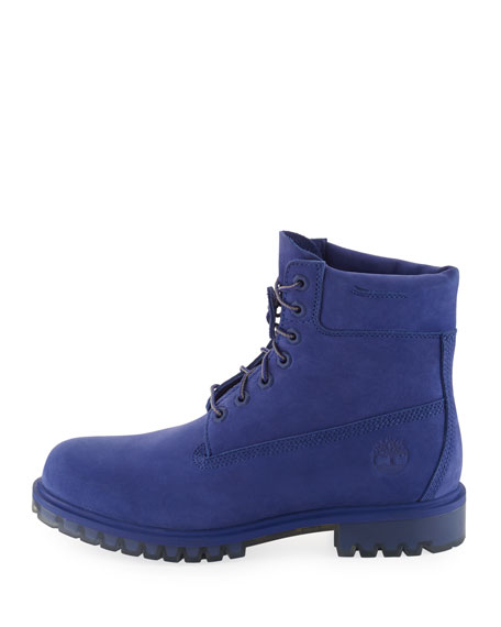 "6"" Premium Waterproof Hiking Boot, Royal Blue"