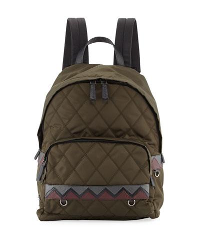Tessuto Impunturato Backpack