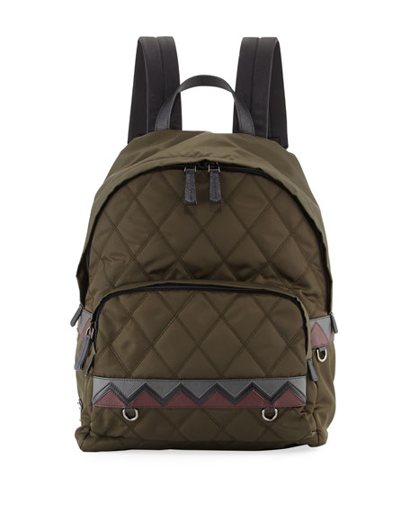 Tessuto Impunturato Backpack