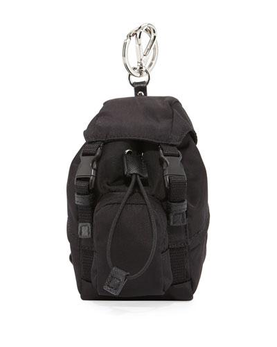 Tessuto Backpack-Shaped Travel Key Chain