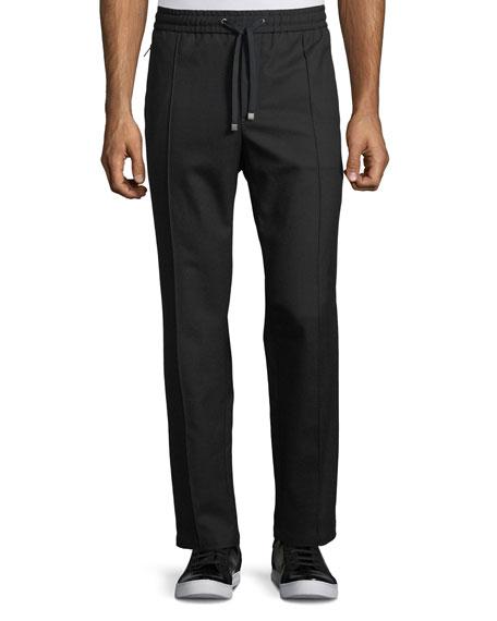 Wool-Cotton Jogger Pants