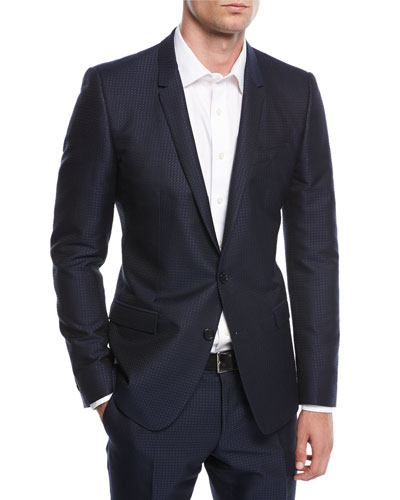 Jacquard Two-Piece Suit