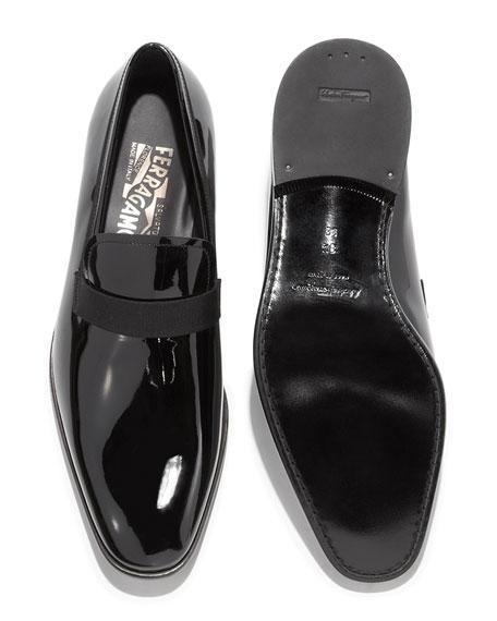 Patent Loafer, Black