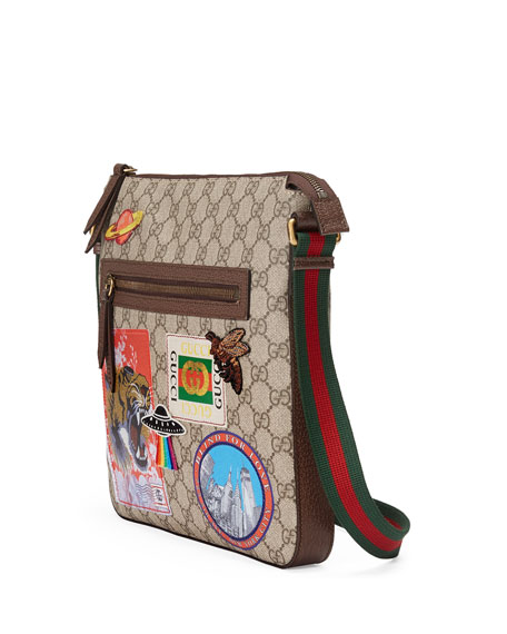 Gucci Courier Soft GG Supreme Messenger Bag