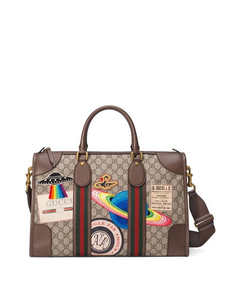 7fca36519125 Gucci Gucci Courier Soft GG Supreme Duffel Bag