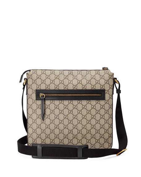 6618c57212d0 Gucci Angry Cat GG Supreme Messenger Bag