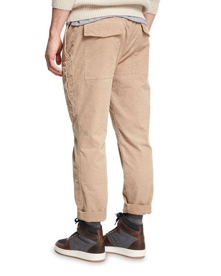 Corduroy Cargo Pants