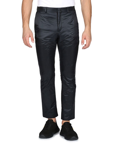 Nylon Runway Trousers, Black