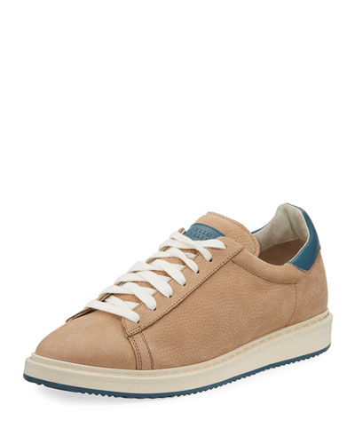 Men's Icarus Suede Low-Top Sneaker