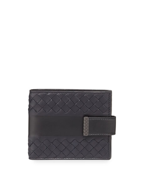 Bands Intrecciato Leather Wallet