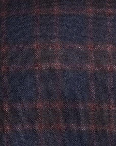 Cashmere Plaid Jacket