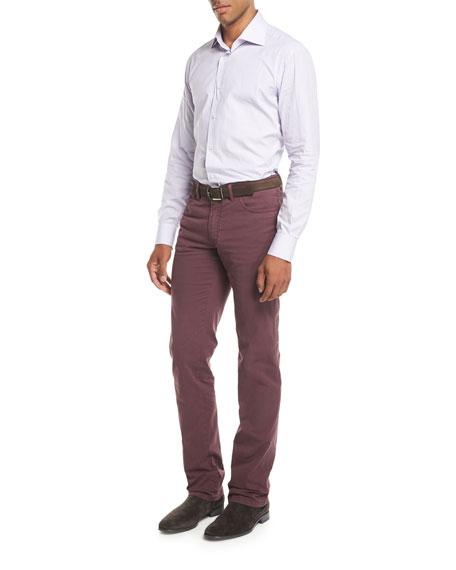 Five-Pocket Stretch-Cotton Pants