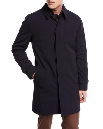 Elements Water-Resistant Raincoat