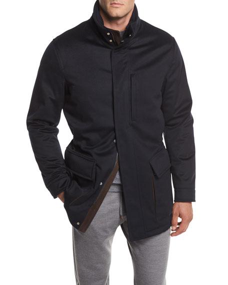 Elements Cashmere Field Jacket