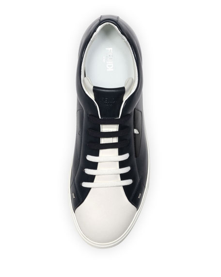 Monster Leather Low-Top Sneaker