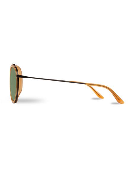 Edge Panthos Sunglasses, Red Amber/Matte Black