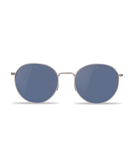 Swing Titanium Panthos Sunglasses, Silver