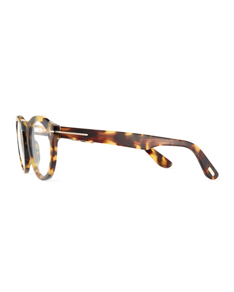fddfcebb05a TOM FORD Soft Rounded Acetate Optical Frames