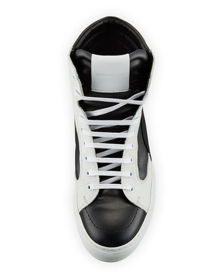 Artel Leather High-Top Sneaker
