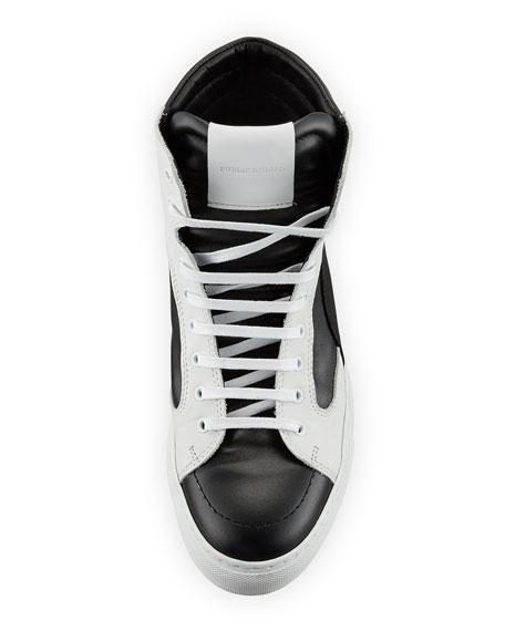 Men's Artel Leather High-Top Sneakers