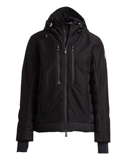 Bessans Quilted-Trim Jacket