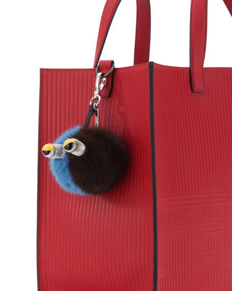 Fur Spring Eyes Charm for Bag or Briefcase
