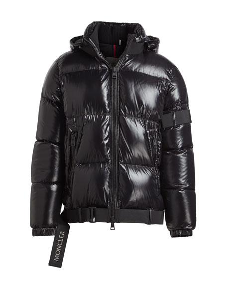 3ef3d9dbd Brook Shiny Puffer Jacket