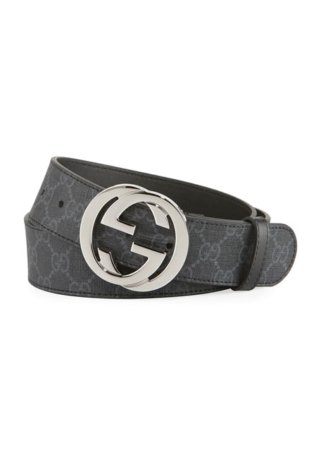 GG Supreme Belt with logo buckle Gucci qw6PJcyP7