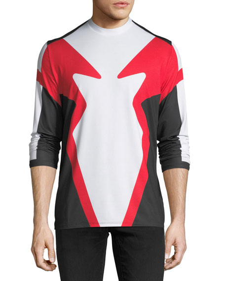 Moto-Mesh Long-Sleeve T-Shirt