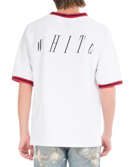 Nebraska Baseball V-Neck T-Shirt
