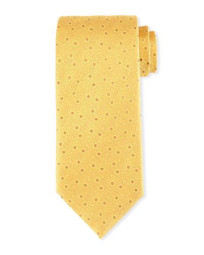 Textured Bean Silk Tie