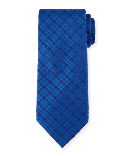 Corner Boxes Silk Tie