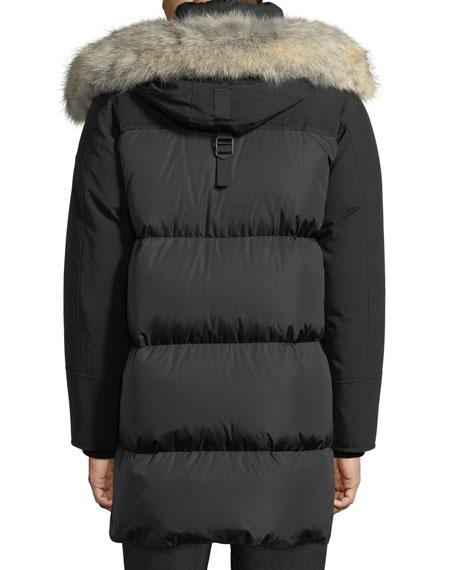 Aurelien Utility Jacket w/ Fur-Trim Hood