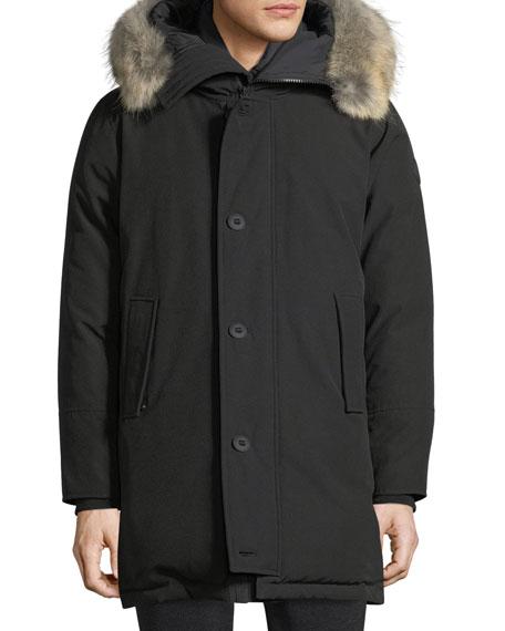 Moncler Hood Trim W Aurelien Jacket Utility Fur 1p61xA