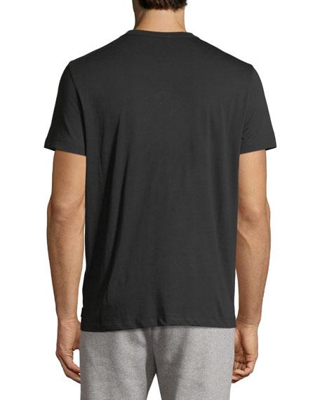 Leather Logo T-Shirt