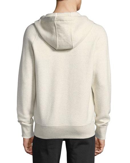 Cotton-Blend Zip-Up Hoodie