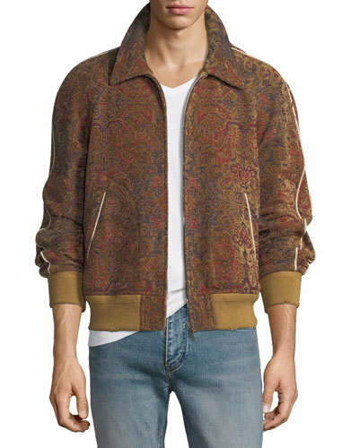 Teddy Marrakech Tapestry Bomber Jacket